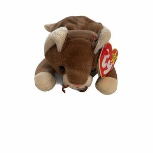 Ty Beanie Babies Pounce the Cat